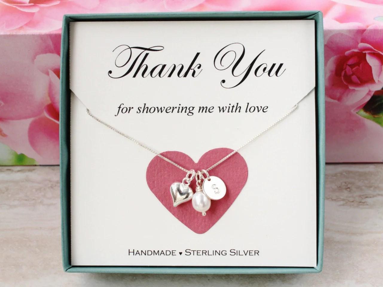 Bridal shower hostess gift for baby shower hostess Thank you