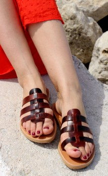 Barefoot Handmade Leather Sandals Full Grain Women