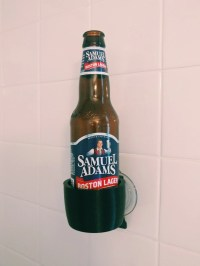 Beer Bottle Holder Shower Bathroom Bathtub Bath 3D Printed