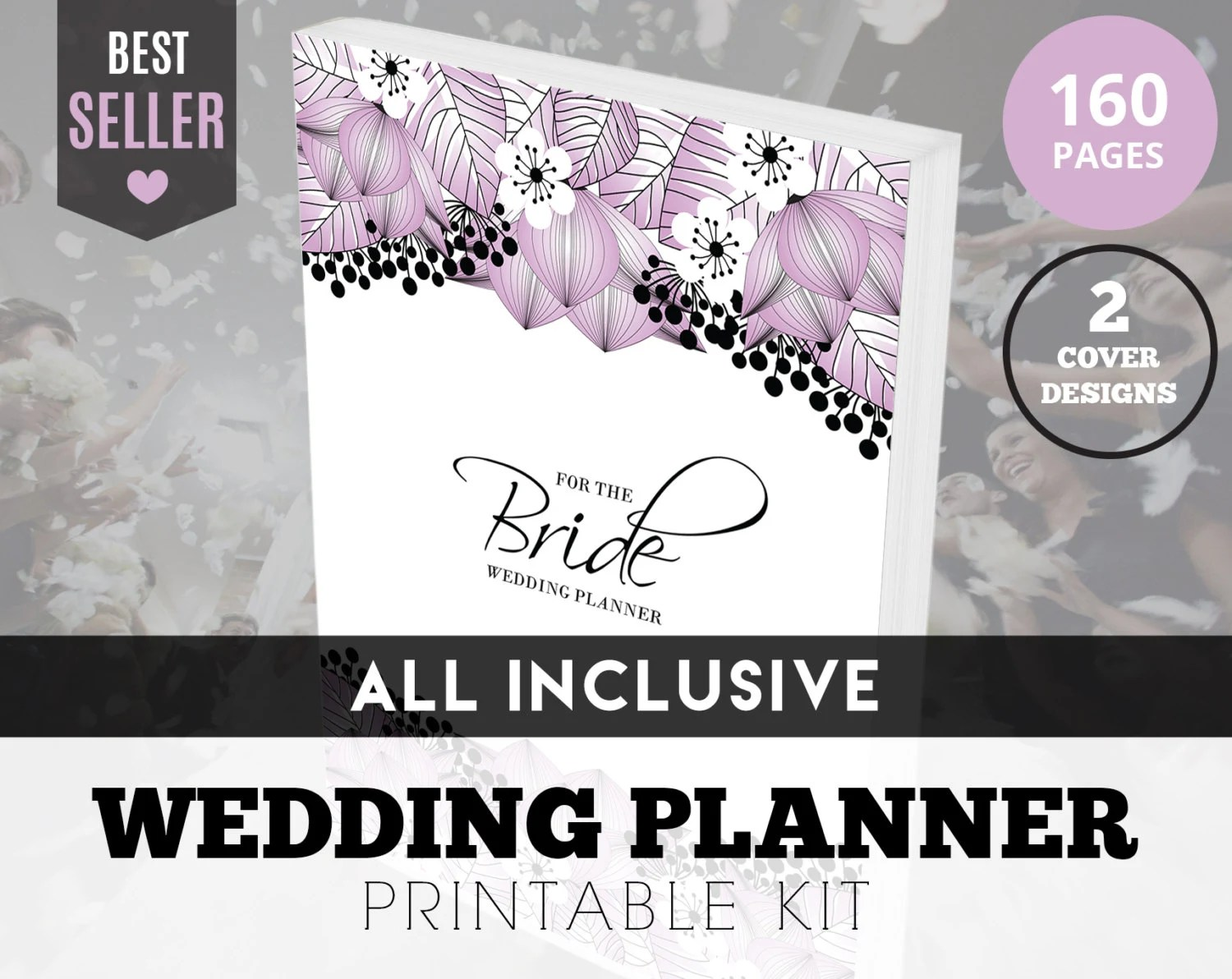 Printable Wedding Planner Kit Printable By CherryTopPrintables