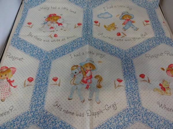 Nursery Rhyme Fabric Panels