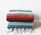 MEXICAN BLANKET // beach, yoga, adventure blanket, miami blanket, falsa blanket, vintage blanket
