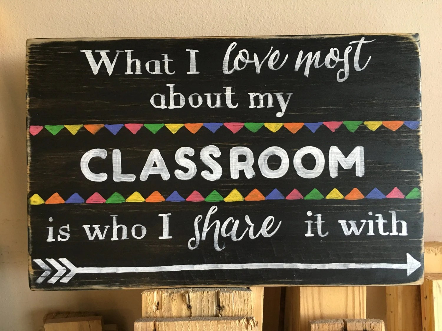 Teacher Sign What I Love Most About My Classroom Is Who I