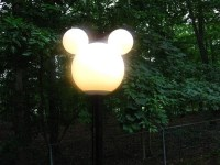 Disney Mickey Lamp Post