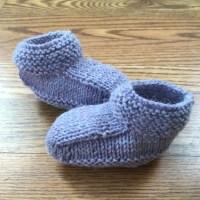Baby Booties Hand Knit Peruvian Highland Wool Choose