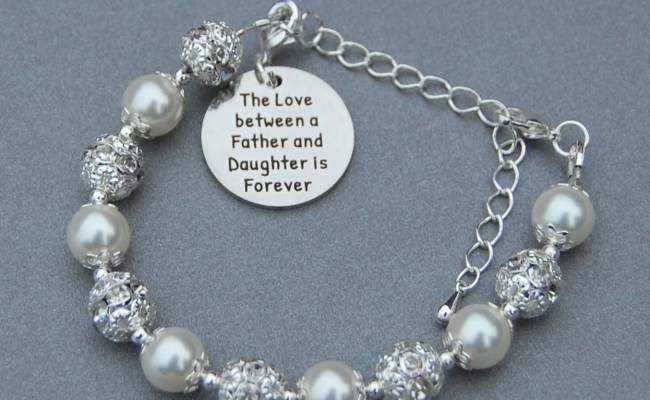 Father Daughter Gift Father Daughter Jewelry The Love