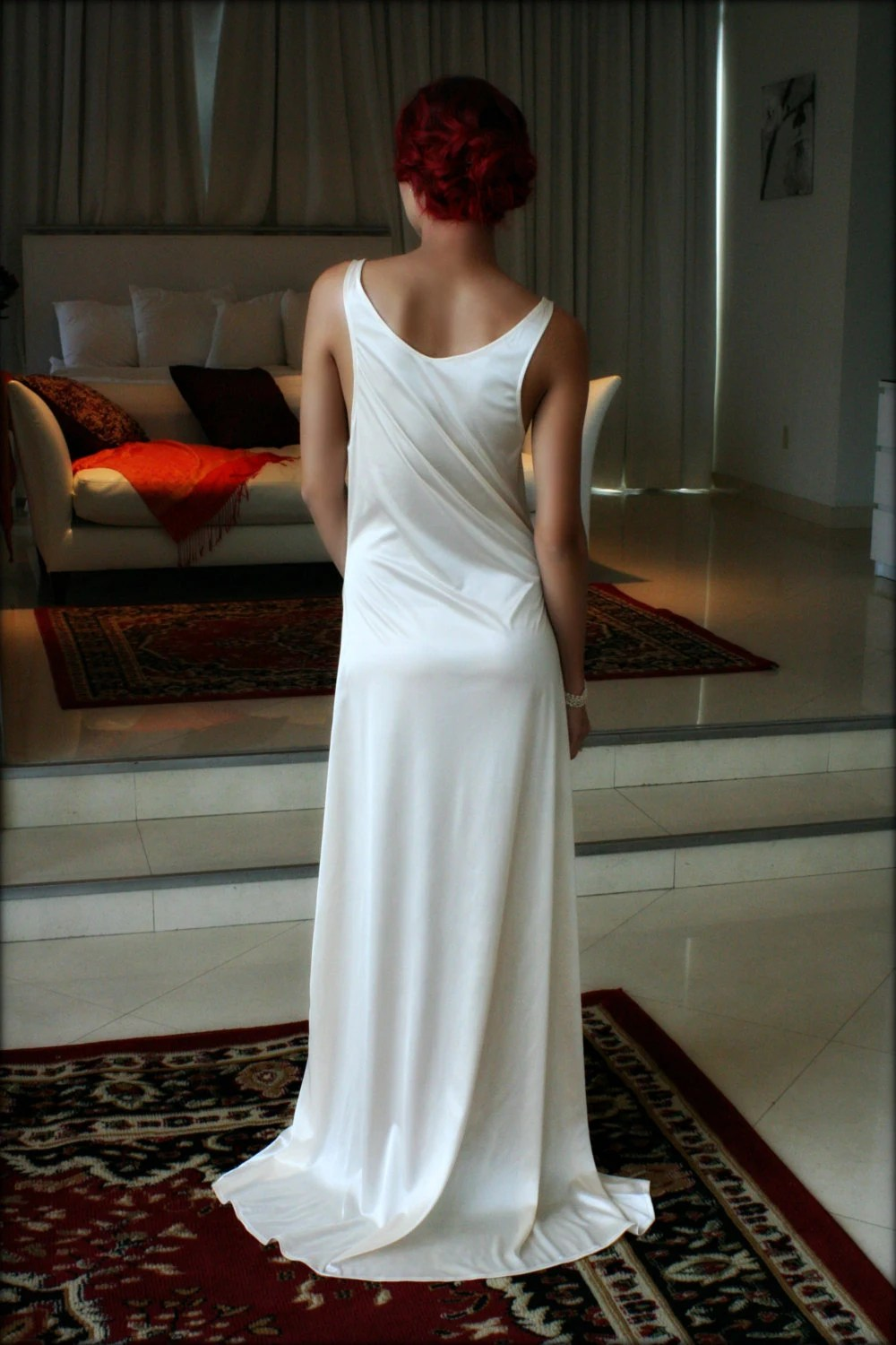 Bridal Nightgown Satin Slip Dress Liner Bridal by