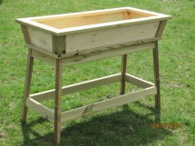 Outdoor Planter Box Wooden Cedar