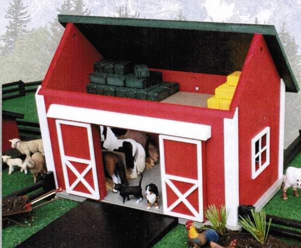 Barn Amish Farm Toy And Animal Sets Kids 18 X