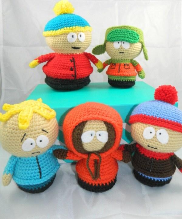South Park Plush Dolls Amigurumi