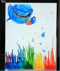 Nursery decor Wall art canvas Finding Nemo Bruce Dory Nursery