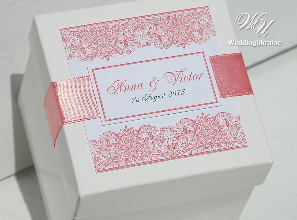 20 Custom Wedding Favor Boxes With Satin Ribbon And Tag