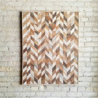Reclaimed Wood Wall Art, Wood Wall Decor, Abstracted ...
