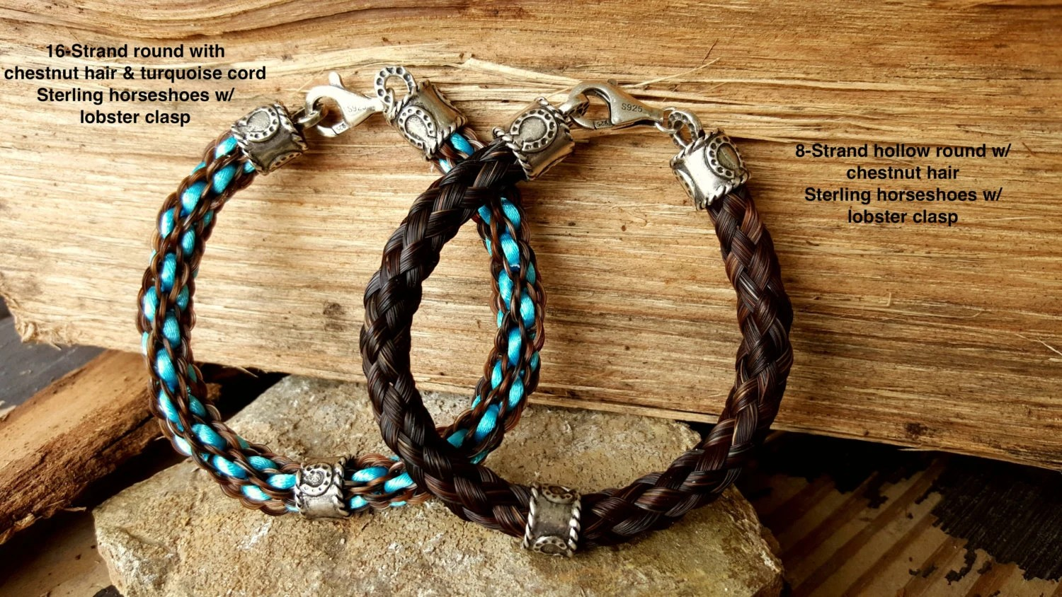 Custom Braided Horse Hair Bracelet