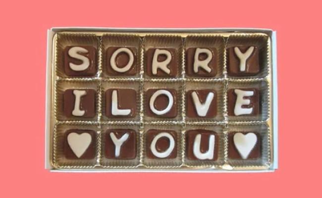 I Am Sorry Gift Her Him Apology Gift Boyfriend Girlfriend