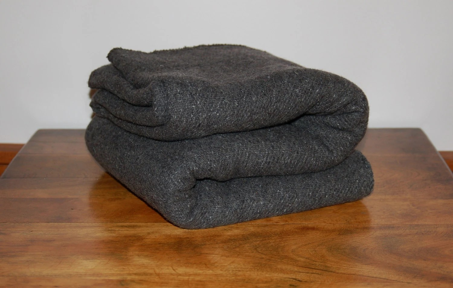 charcoal gray sofa bed curved sectional living room heathered dark grey wool throw blanket dorm