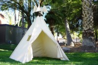 XL plain teepee, 8ft kids Teepee, beach tent, large tipi ...
