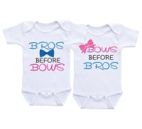 Twins Onesie Twins Baby Gift Twin Onesie for Boy Girl