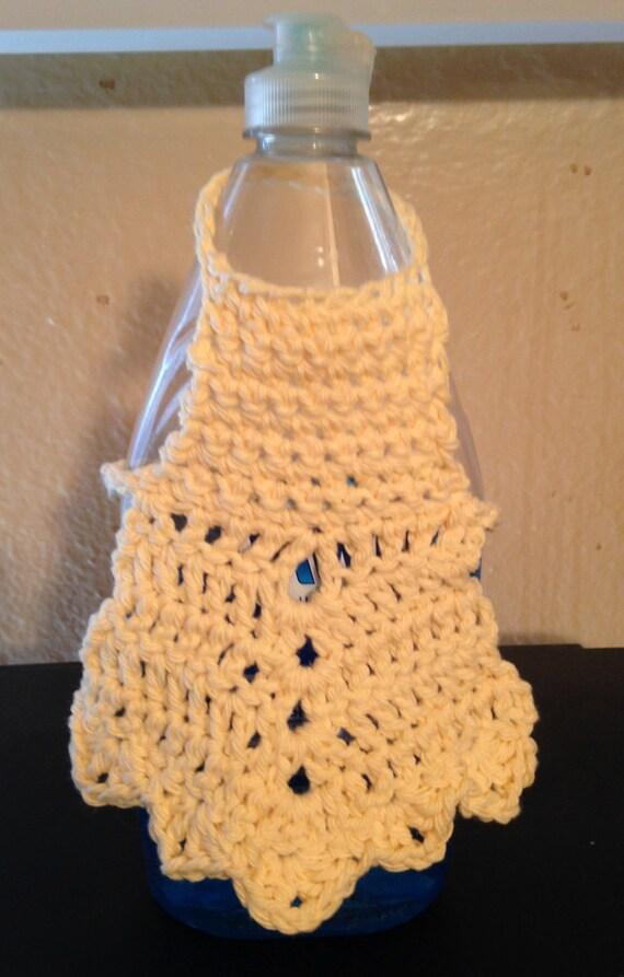 Crochet Dish Soap Bottle ApronSoap Dispenser ApronDish