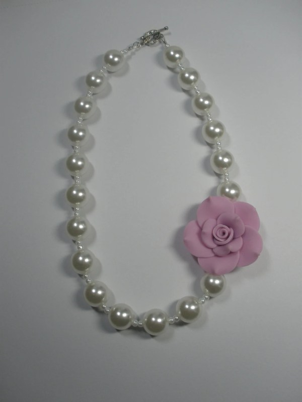 Little Girl Pearl Necklace