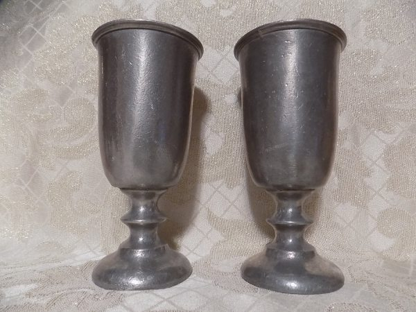 Wilton Pewter Goblets Set Of Two In Usa Vintage Design