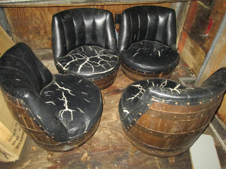 Barrel Swivel Chairs