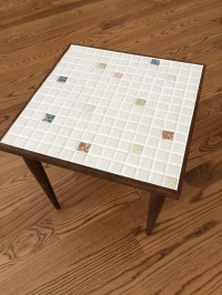 Items similar to SALE Mid Century Modern Mosaic Tile Snack ...