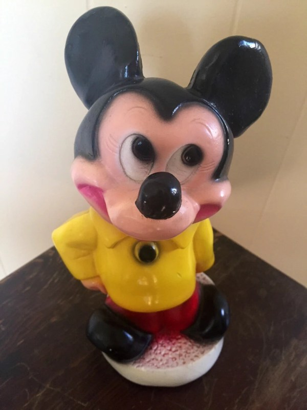 Mickey Mouse Piggy Bank Vintage
