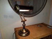 Vintage Bankers Lamp Brass Bankers Lamp Vintage Lamp