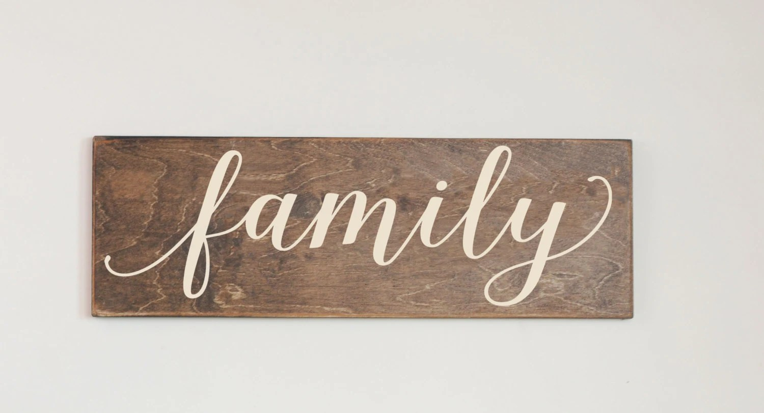 Stained Wood Sign Etsy