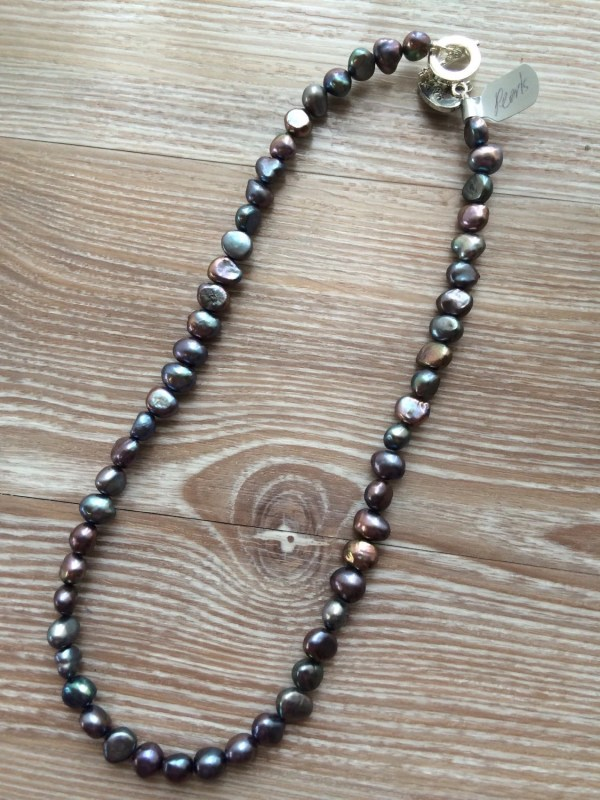 Fresh Water Pearl Necklace With Toggle Clasp Uk 19