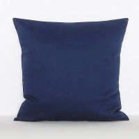 Navy Blue Pillow Cover Decorative Throw Accent Toss Pillow