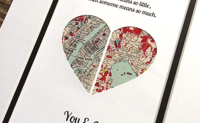 Valentines Day Gift For Long Distance V Day Gift By Handmadehq