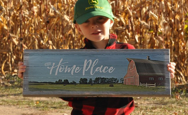 Farm Name Sign Personalized Farm Name Print Gift Idea For