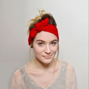 red headband adults hair accessories