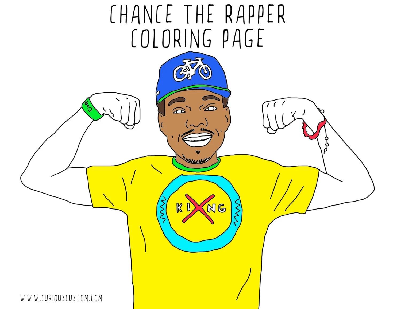 buy chance the rapper coloring book dessincoloriage