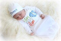 Newborn Boy Coming Home Outfit Baby Boy Hospital Outfit Take