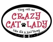MAGNET - Crazy Cat Lady -...