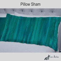 Teal green turquoise blue Pillow shams Bedroom decor