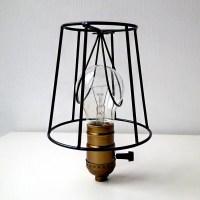 Metal Lamp shade Industrial lighting metal cage loft lamp