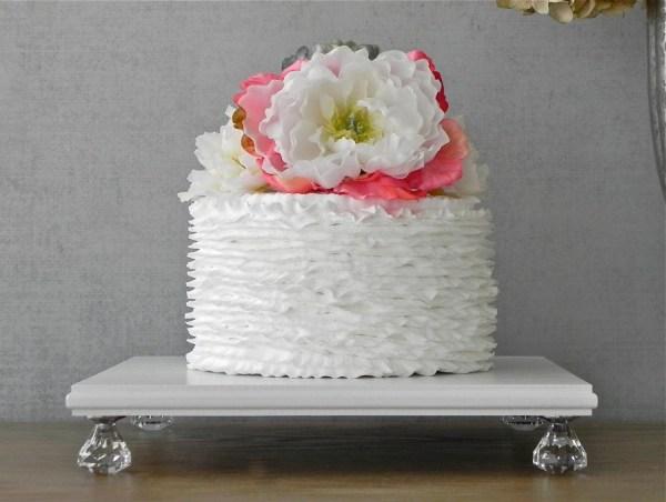 Cake Stand Cupcake White Wooden Bling Wedding