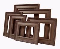 Picture Frames Picture Frame Set Brown or Custom Frames ...