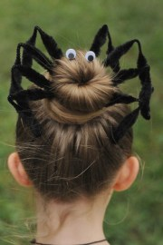 halloween spider bun hair kit