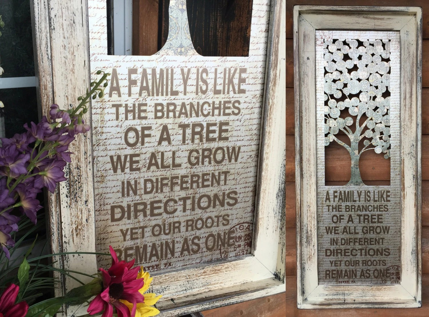 Wall Art FAMILY Is Like The Branches Of TREE By