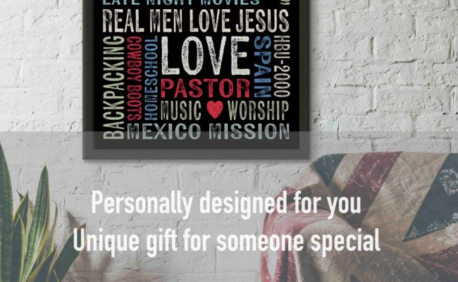 Unique Gift For Him For Her Christian Gift Office Decor