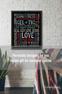 Unique Gift For Him / For Her / Christian Gift / Office Decor