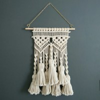 Tassel macrame wall hanging macram bohemian weaving wall art
