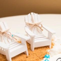 Adirondack Chair Cake Topper Swivel Cartoon Beach Wedding Toppermini Setbeach