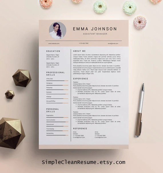 Creative Resume – Etsy