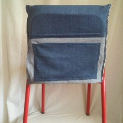Classroom Chair Covers With Pocket Next Denim Cover For Kids Or Playroom